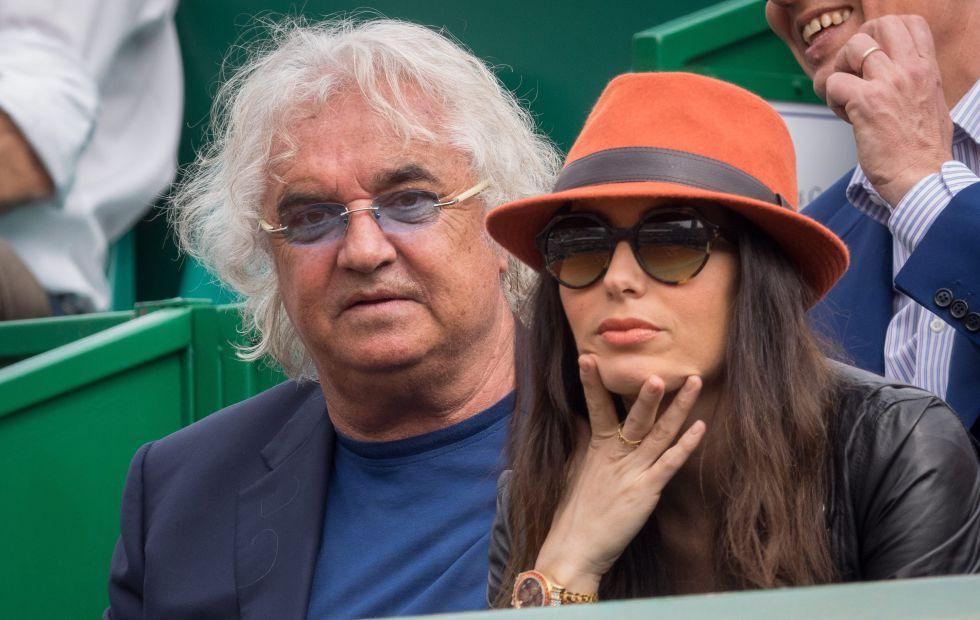 Flavio Briatore y su mujer, Elisabetta Gregoraci