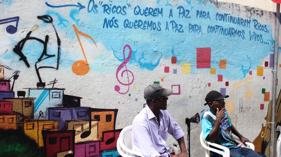 Favelas en Río de Janeiro, Brasil