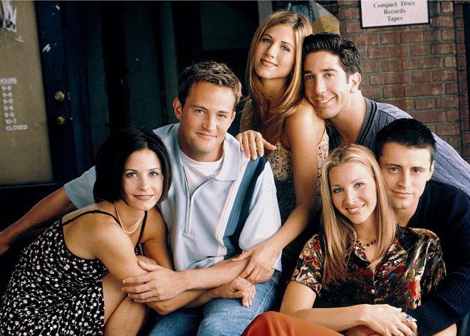 Nueva York también son ellos: Monica, Chandler, Rachel, Ros, Joey y Phoebe.