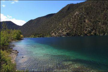 Imagen del lago Pavilion.