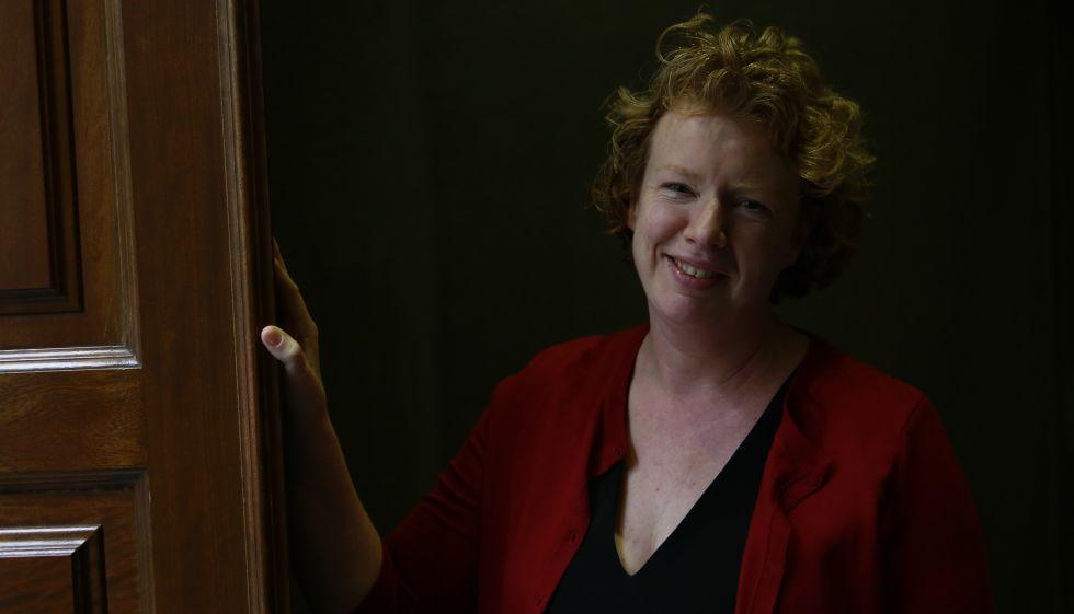La neuróloga Suzanne O'Sullivan hace unas semanas en Madrid.