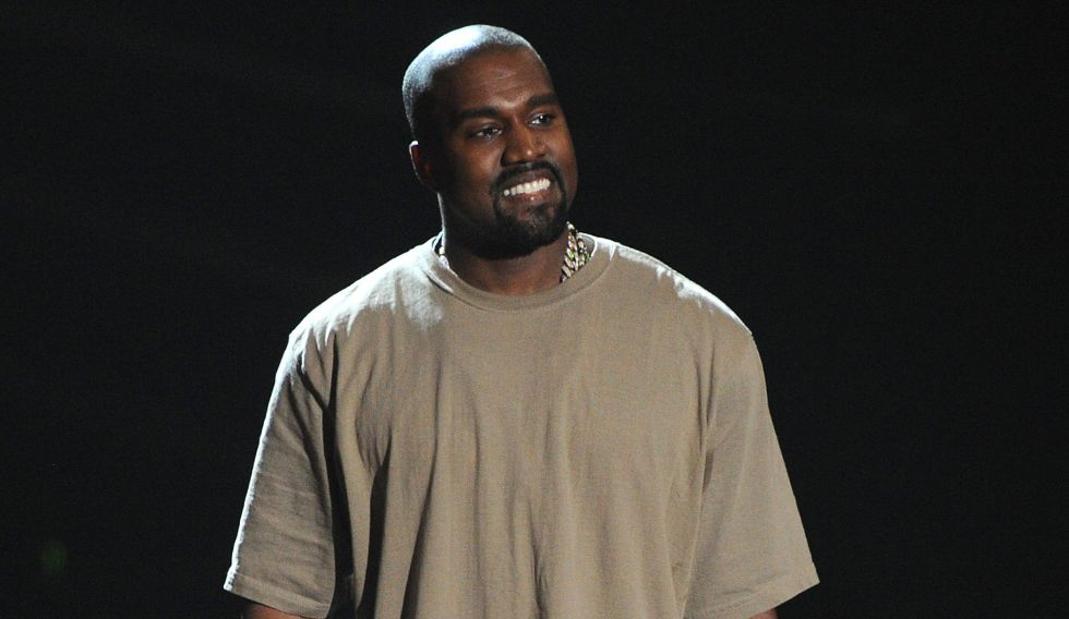Kanye West durante los MTV Video Music Awards de 2015.