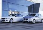 Las nuevas variantes de la berlina Serie 3 (izquierda) y el monovolumen Serie 2 pueden recorrer hasta 41 kilómetros en modo eléctrico.