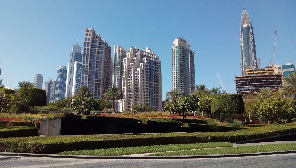 Zona financiera de Dubai, emirato que acogió la WOrld Government Summit.