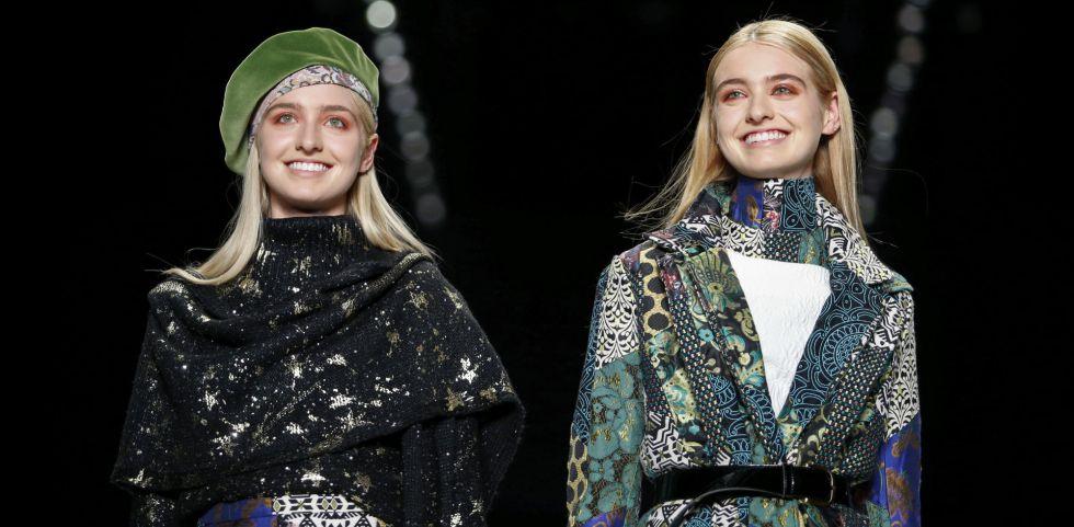 Modelos lucen creaciones de la marca española Desigual.