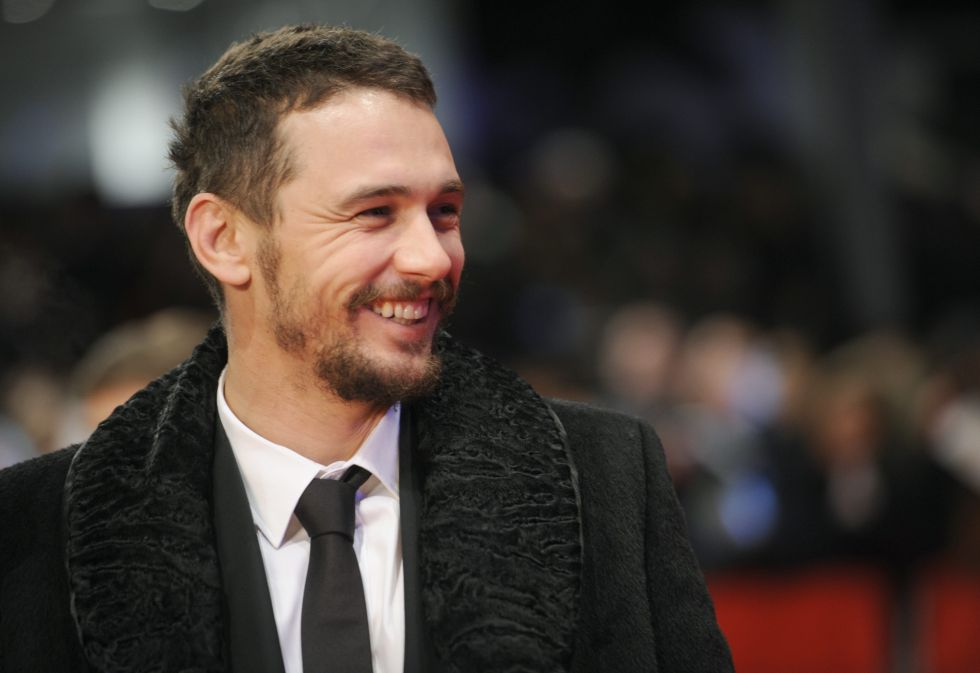 El actor James Franco en el festival de cine Berlinale en 2015.