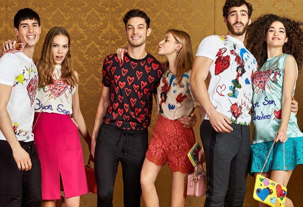 Una muestra de la colección Dolce & Gabbana San Valentino.