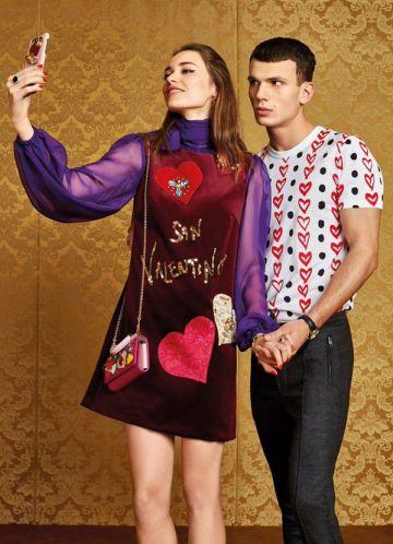 Otra muestra de la colección especial de Dolce & Gabbana para San Valentín.