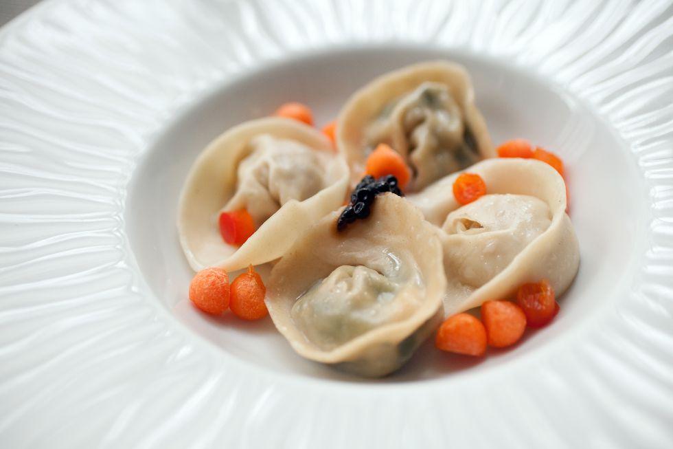 Surtido de 'dumplings'.