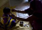Pastillas antiparásitos para el desarrollo de los niños indios