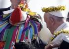 El papa Francisco llega a Chiapas