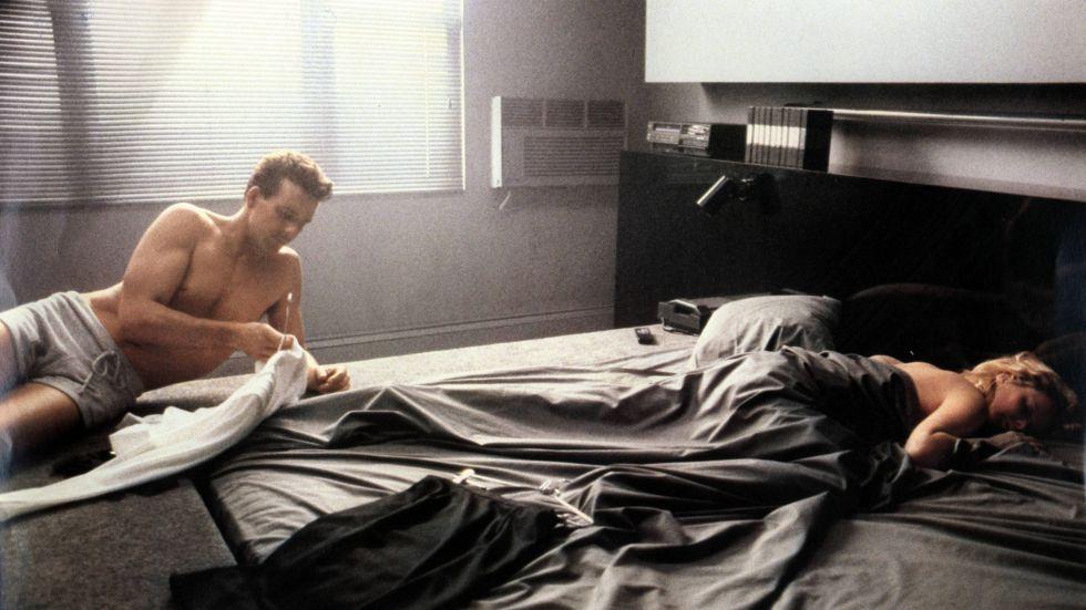 Fotograma de la película 'Nueve semanas y media'.