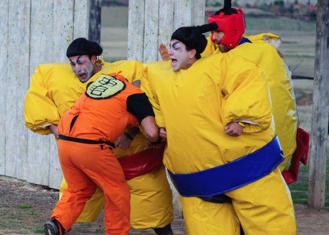 'Humor amarillo' llega a España, pero hay deportes aún más absurdos