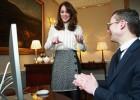 Kate Middleton, periodista por un día