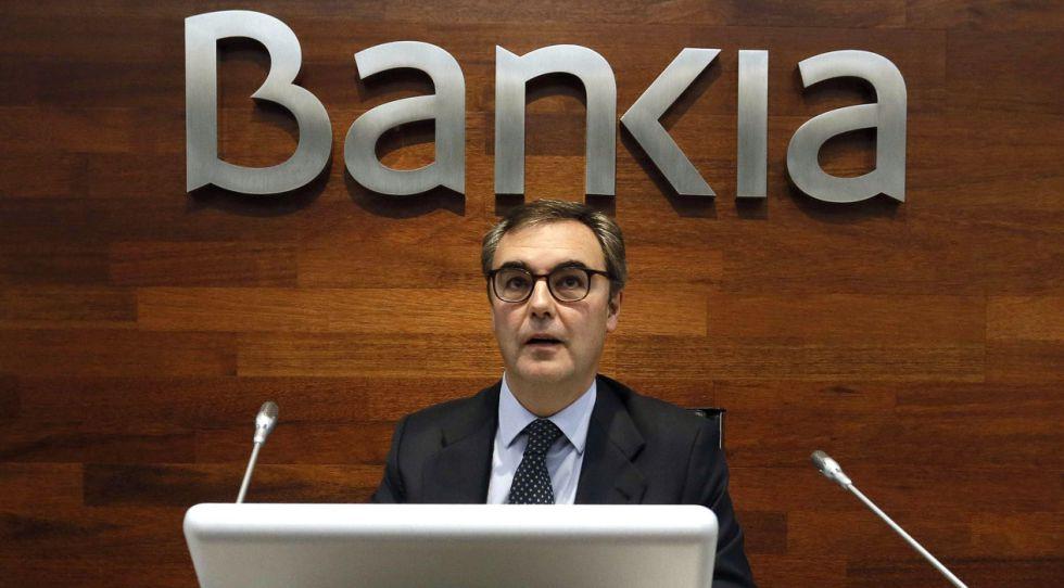 José Sevilla, consejero delegado de Bankia, explica el plan para los pequeños inversores