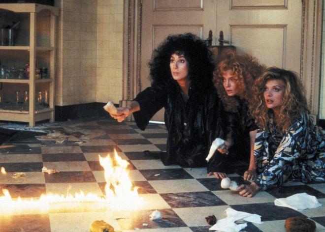 Fotograma de la película 'Las brujas de Eastwick' (1987).