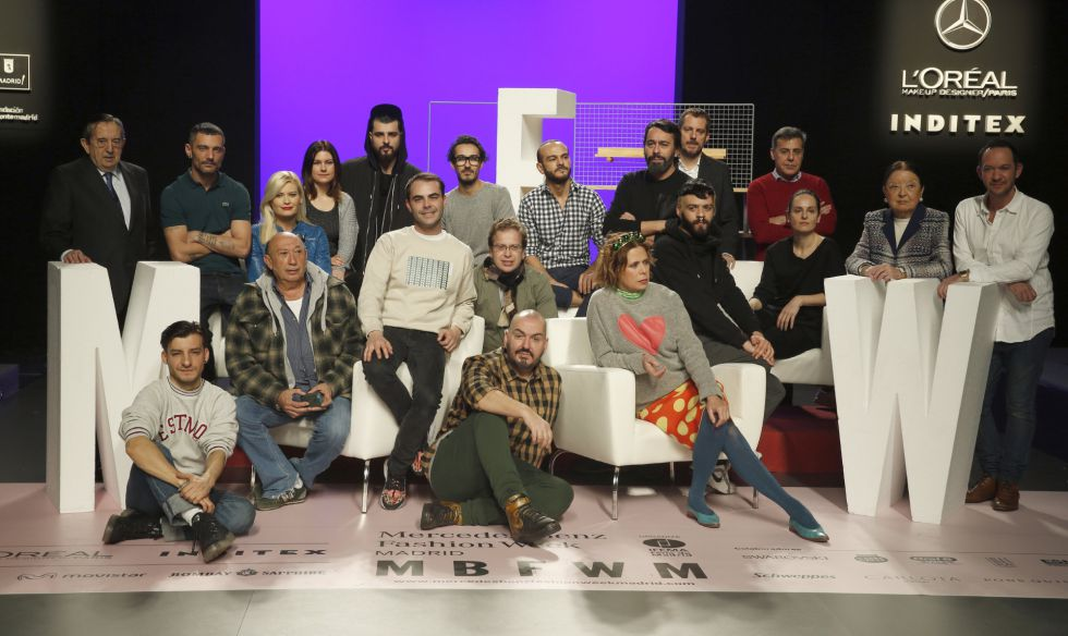 Los diseñadores que participan en la Mercedes-Benz Fashion Week Madrid.