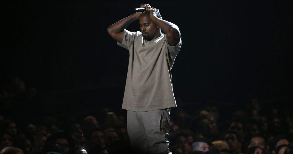 El cantante Kanye West.