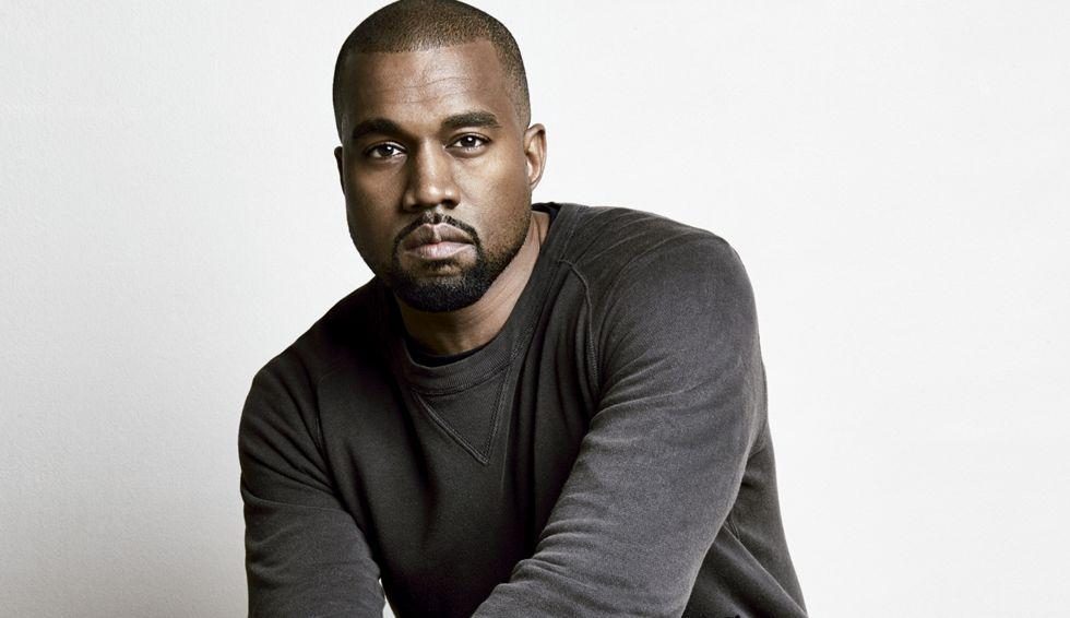 El cantante y también diseñador, Kanye West.