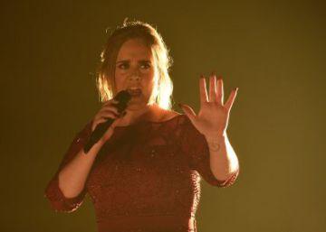 Adele ahora come césped