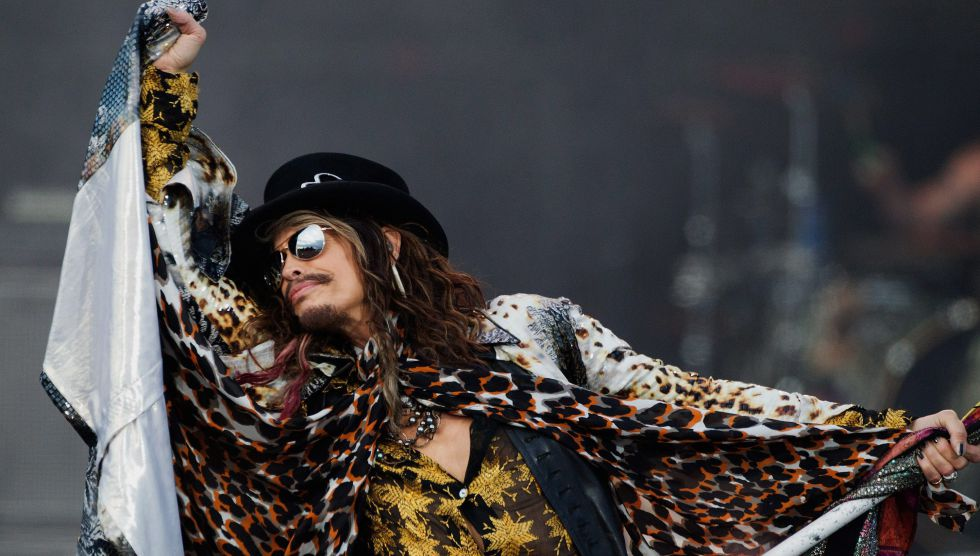 El vocalista de Aerosmith, Steven Tyler.
