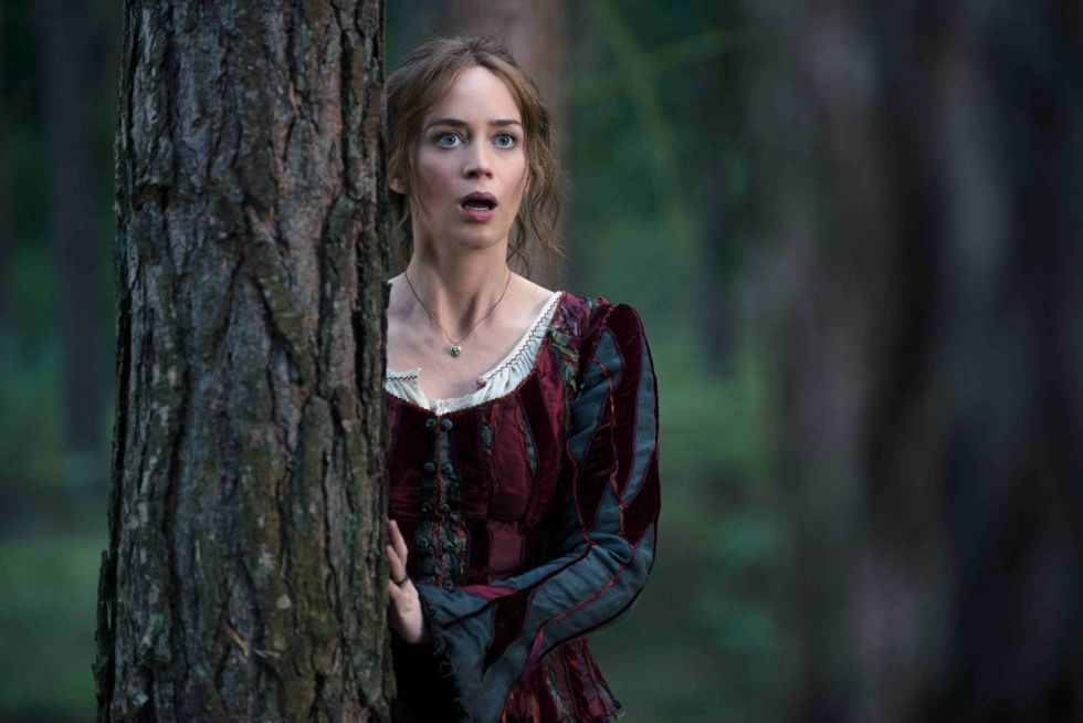 Emily Blunt en un fotograma de 'Into the woods'