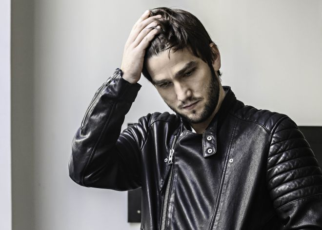 Lucas Vidas, fotografiado por Luis Rubio.