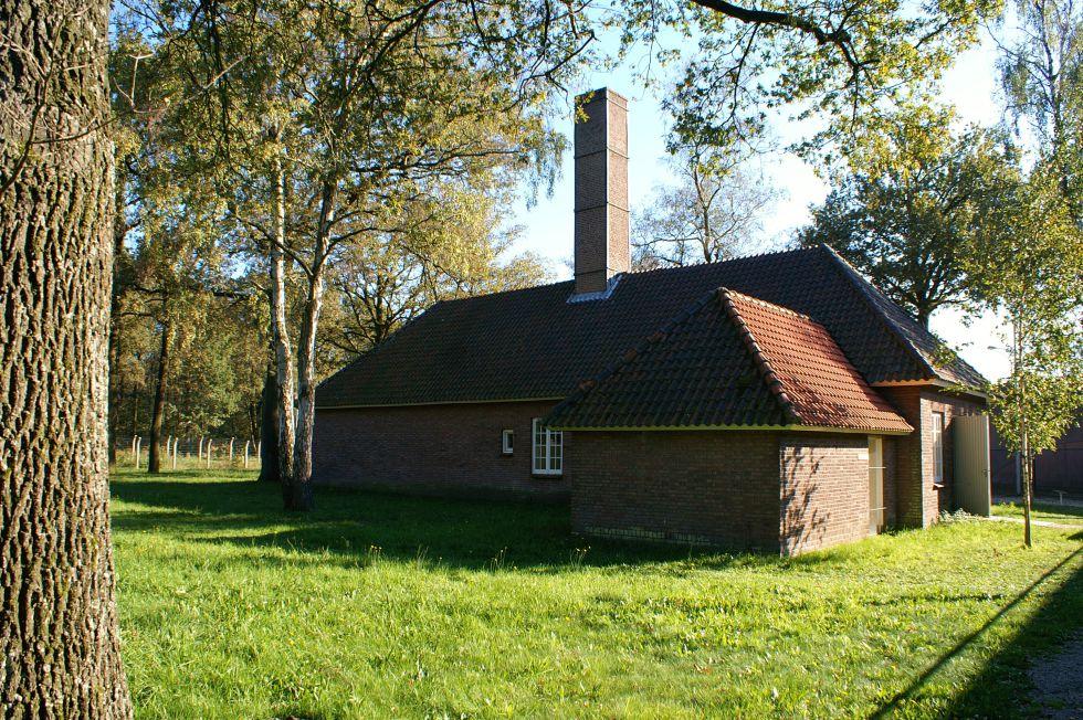 Crematorio del campo de contentración de Vught (Holanda)