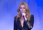 Celine Dion dedica su primer concierto a su marido