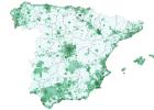 ¿Cuantos vecinos comparten cada metro cuadrado en tu municipio?