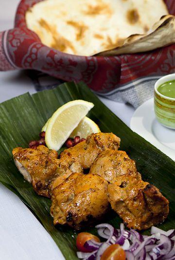 Pollo tandoor, uno de los platos de Tilk.