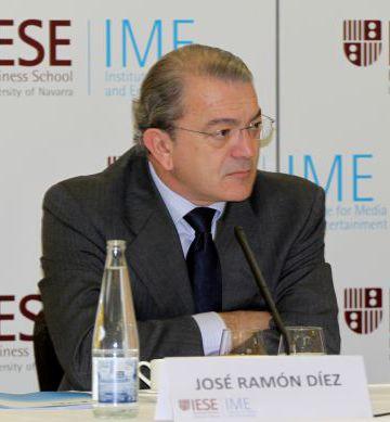 José Ramón Díez, en un desayuno informativo.
