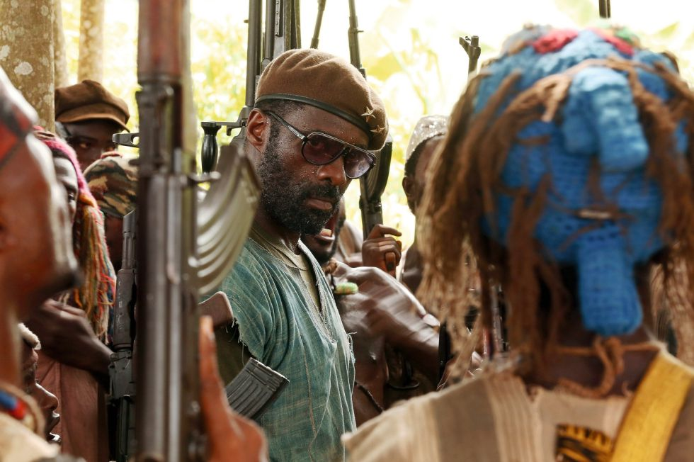 Idris Elba en la película 'Beasts of No Nation'.