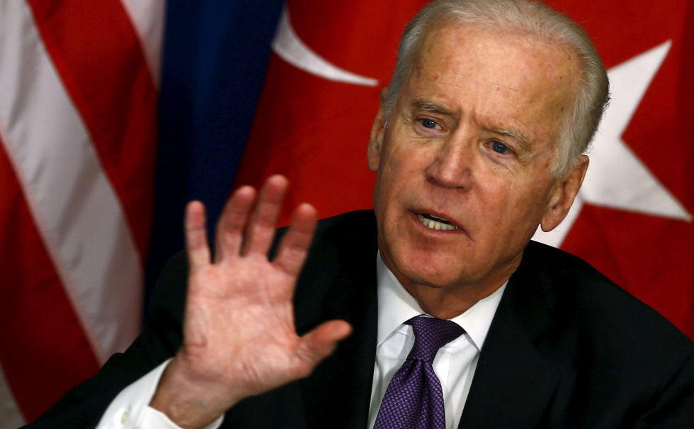 El vicepresidente de Estados Undios, Joe Biden.
