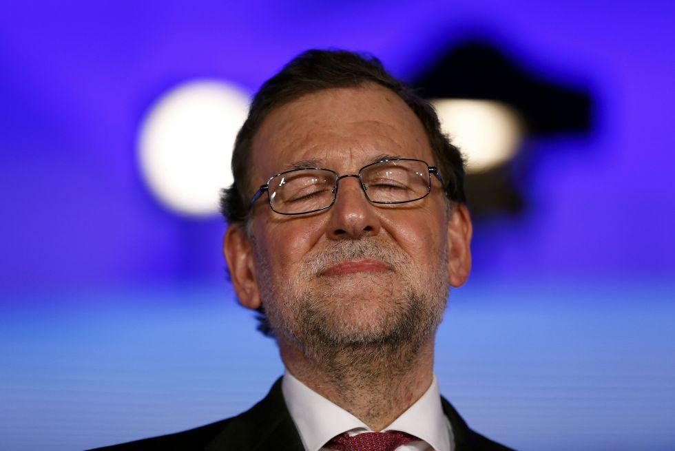 Mariano Rajoy, presidente en funciones.