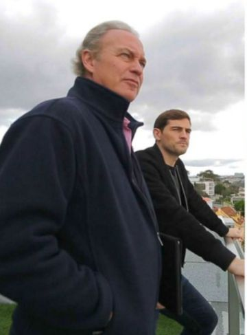 Bertin Osborne en la casa de Iker Casillas