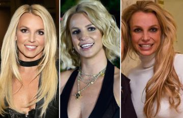 La evolución de Spears en los últimos años.