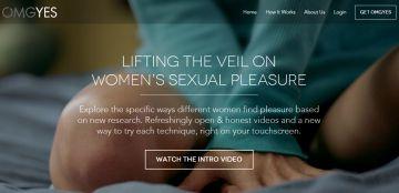 Captura de pantalla de la web OMGYES.com.