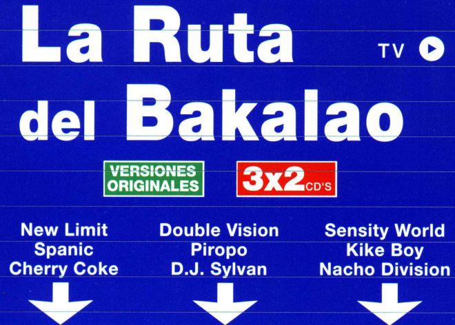 Portada del recopilatorio 'La Ruta del Bakalao' (1999, Vale Music).
