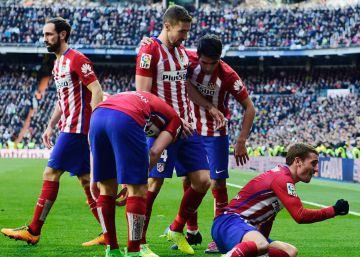 El Atlético se lleva los tres puntos en el Bernabéu