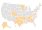 Estados con primarias o 'caucus' el supermartes