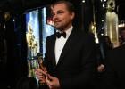 Así celebró DiCaprio su ansiado Oscar