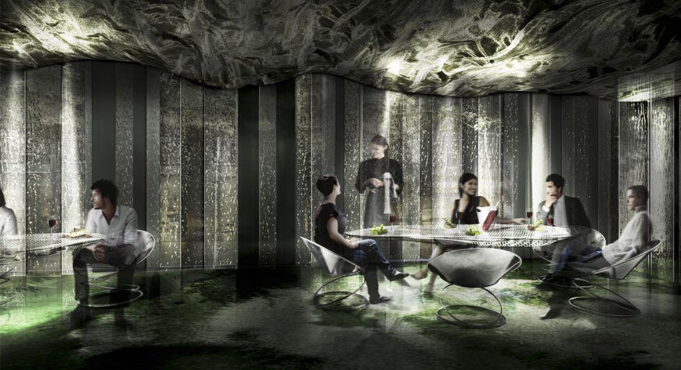 Render del restaurante Enigma que tiene prevista su apertura para junio.