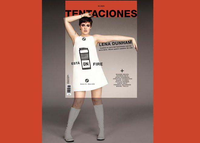 Lena Dunham pide disculpas a Tentaciones (y se gana una suscripción)