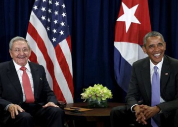 Obama and Castro hold second historic face-to-face in New York