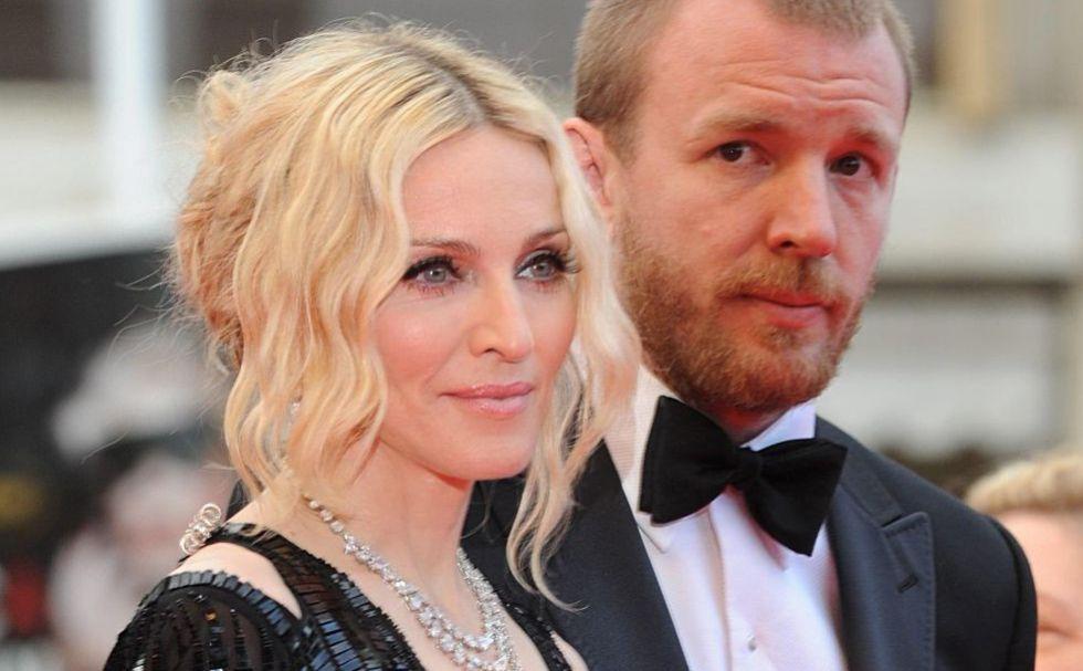 La cantante Madonna y el director Guy Ritchie en una imagen de 2008, poco antes de anunciarse su separación.