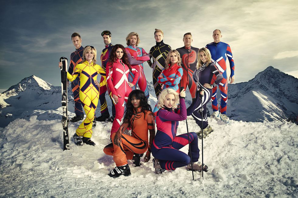 Los concursantesvíctimas de The Jump.