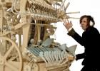 La máquina que hace música con 2.000 canicas