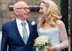 Boda familiar para Rupert Murdoch y Jerry Hall