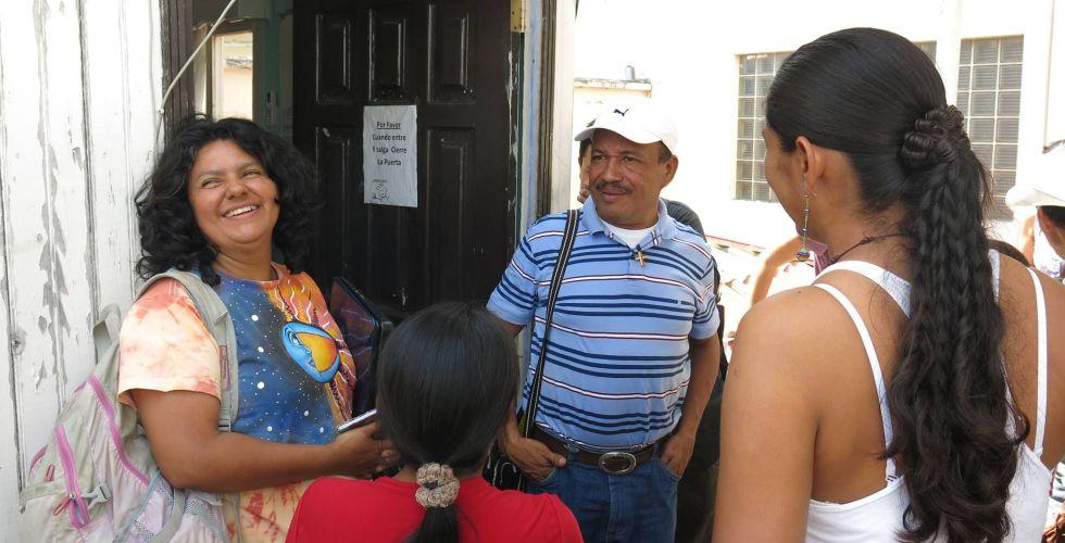 Berta Cárecer, líder indígena, asesinada este lunes en Honduras.
